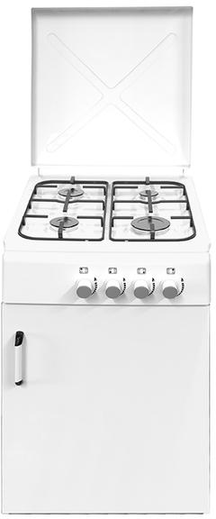 Vitrokitchen cocina cb550pbb 4f 58cm butano portab for Cocinas de gas butano