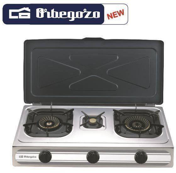 Hornillo Orbegozo FO3500 3gas Sobremesa