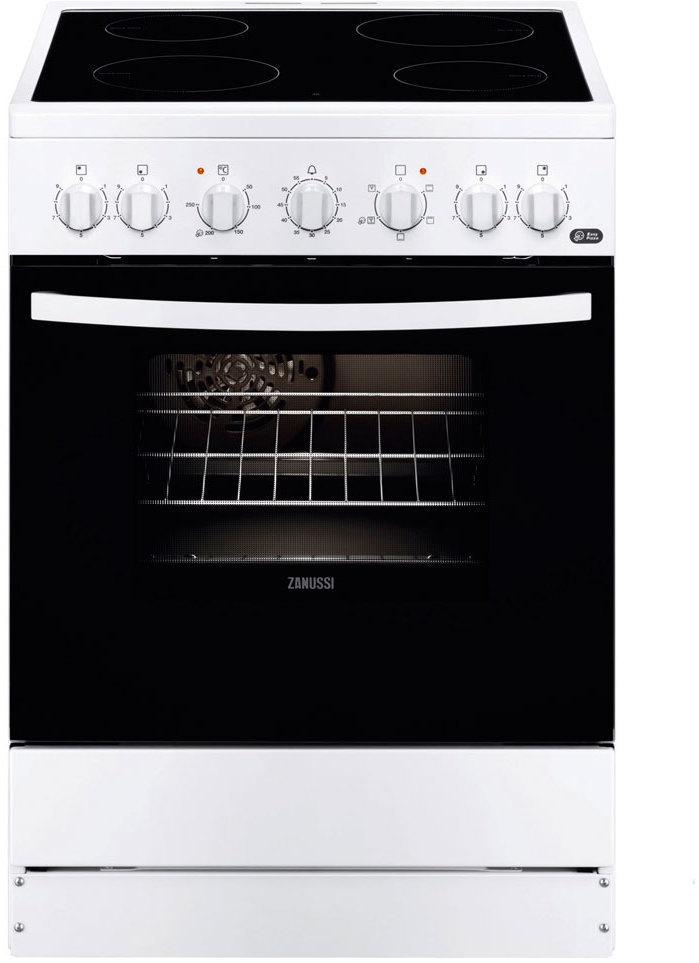 Cocina Zanussi ZCV65201WA Vitro 4f Horno A-10%