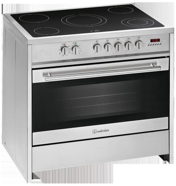 Cocina Meireles E912 X Vitro 5 Fuegos Horno A A