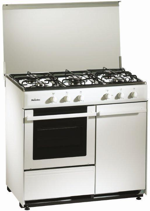 Cocina Meireles G2950DVW 5f Portab Blanca Butano