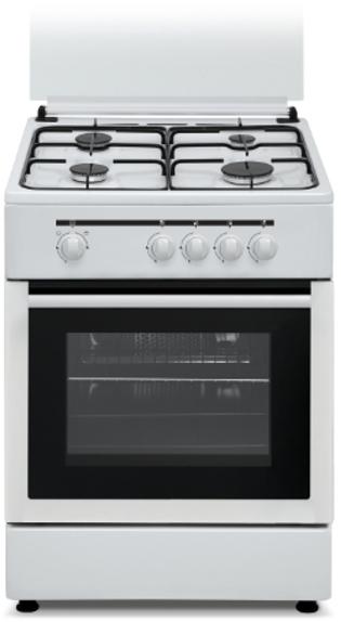 Cocina Vitrokitchen CB60BB 4f 60cm Butano Horno