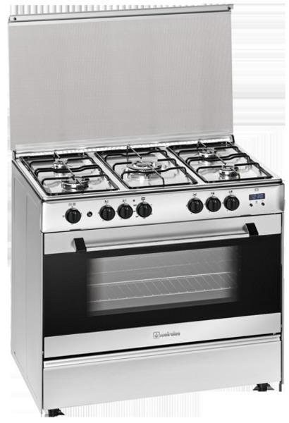 Cocina Meireles G9558ADTVXN 5g Horno Gas Inox