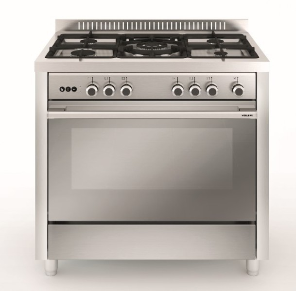 Meireles cocina e531x 3gas horno electrico inox a - Generador electrico a gas butano ...