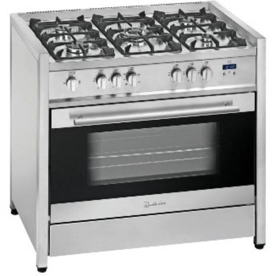 Cocina Meireles G110X Inox 5f Horno A