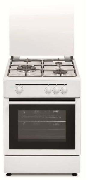 Cocina Vitrokitchen CB5530BB 3f 55cm Butano Horno