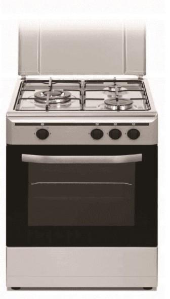 Cocina Vitrokitchen CB5530IB 3f 55cm But Hor Inox
