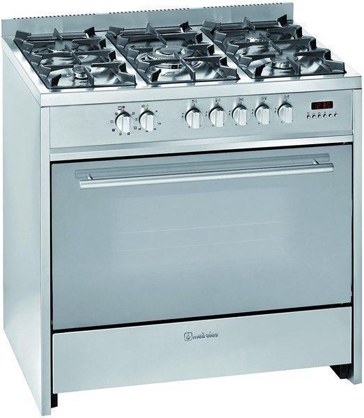 Cocina Meireles E911X Butano 5 Fuegos Horno Inox A