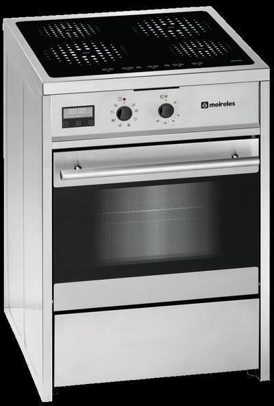 Meireles cocina e612x induccion 4f horno a etendencias for Cocina induccion precio