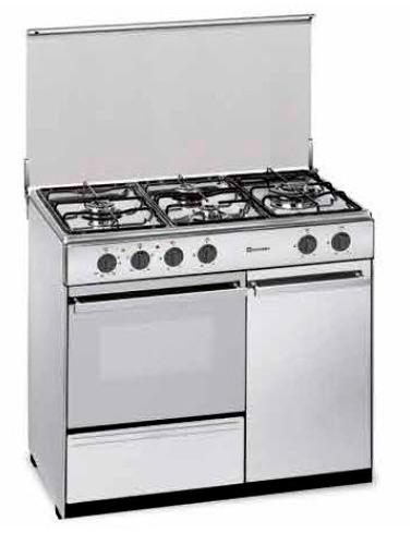 Cocina mixta: gas y eléctrica