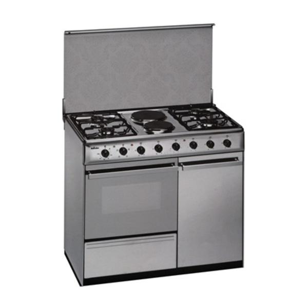 Cocina Meireles E920W 4f+2elec Porta Horno Elec