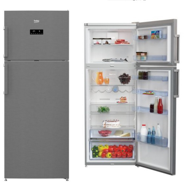 Beko frigorifico rdne455e31zx 2p nf 182x70 a - Frigorifico beko 1 puerta ...