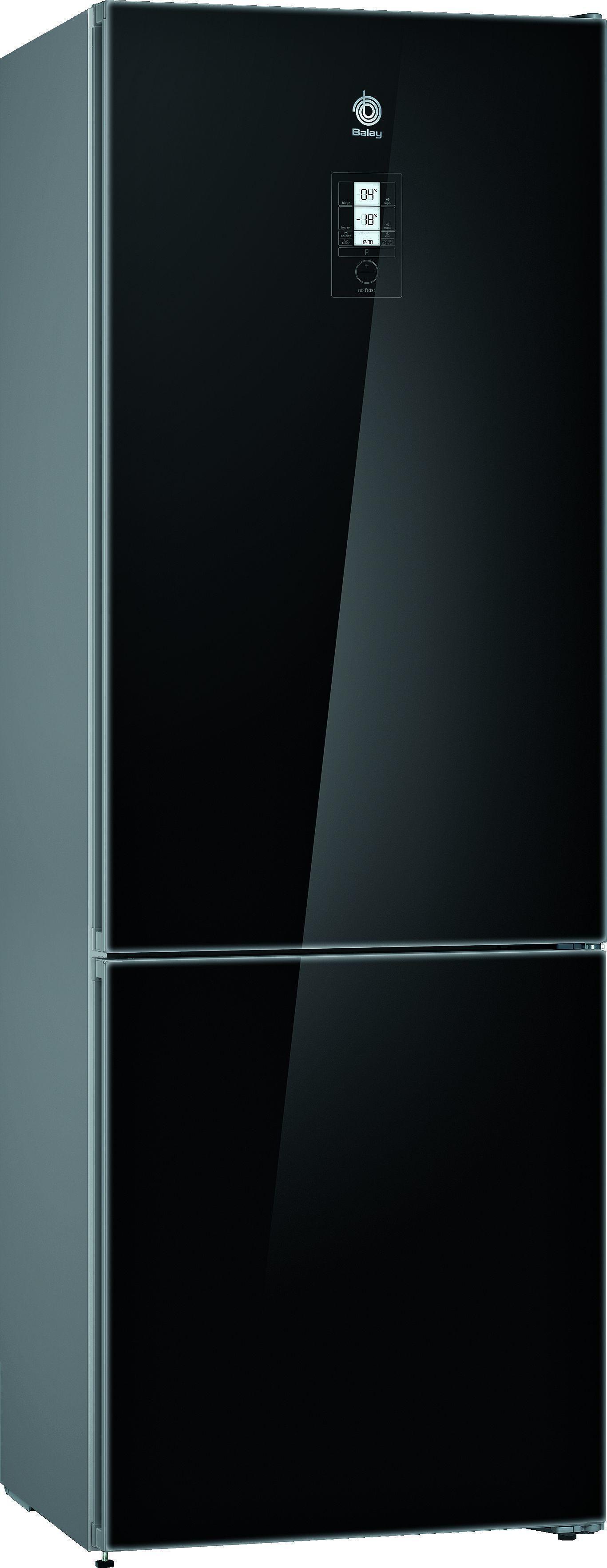 Frigorifico Balay 3KFE778BI Combi 203x70 Negro A++