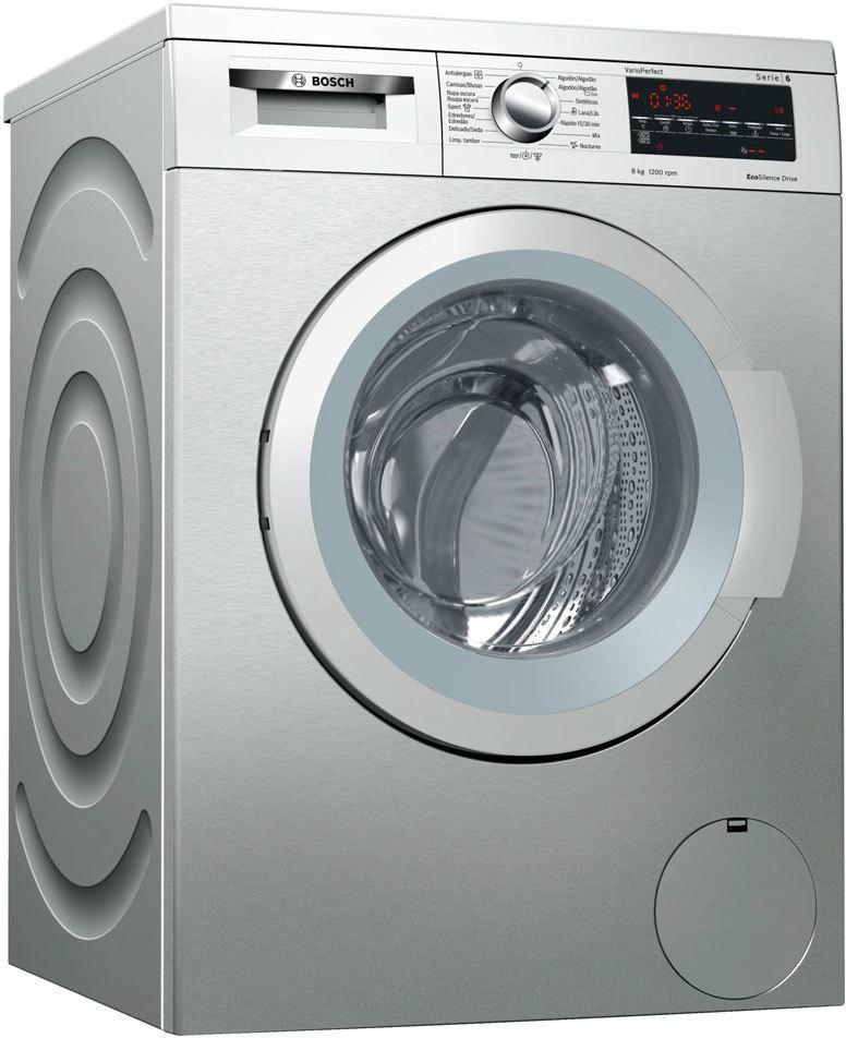 Bosch Lavadora Wuq2448xes 8kg 1200 Inox A