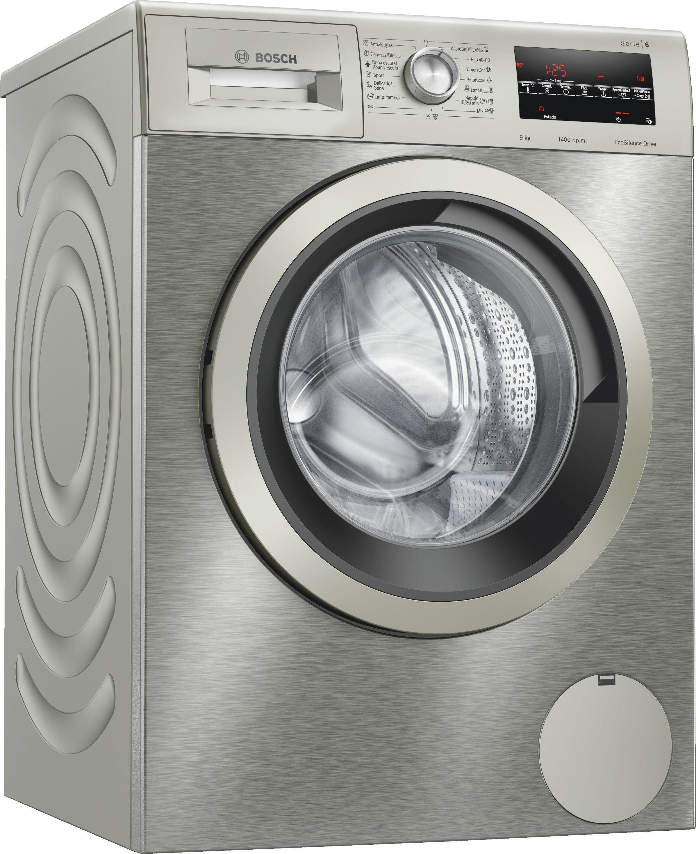 Lavadora Bosch WAU28T6XES 9k 1400 Inox A+++