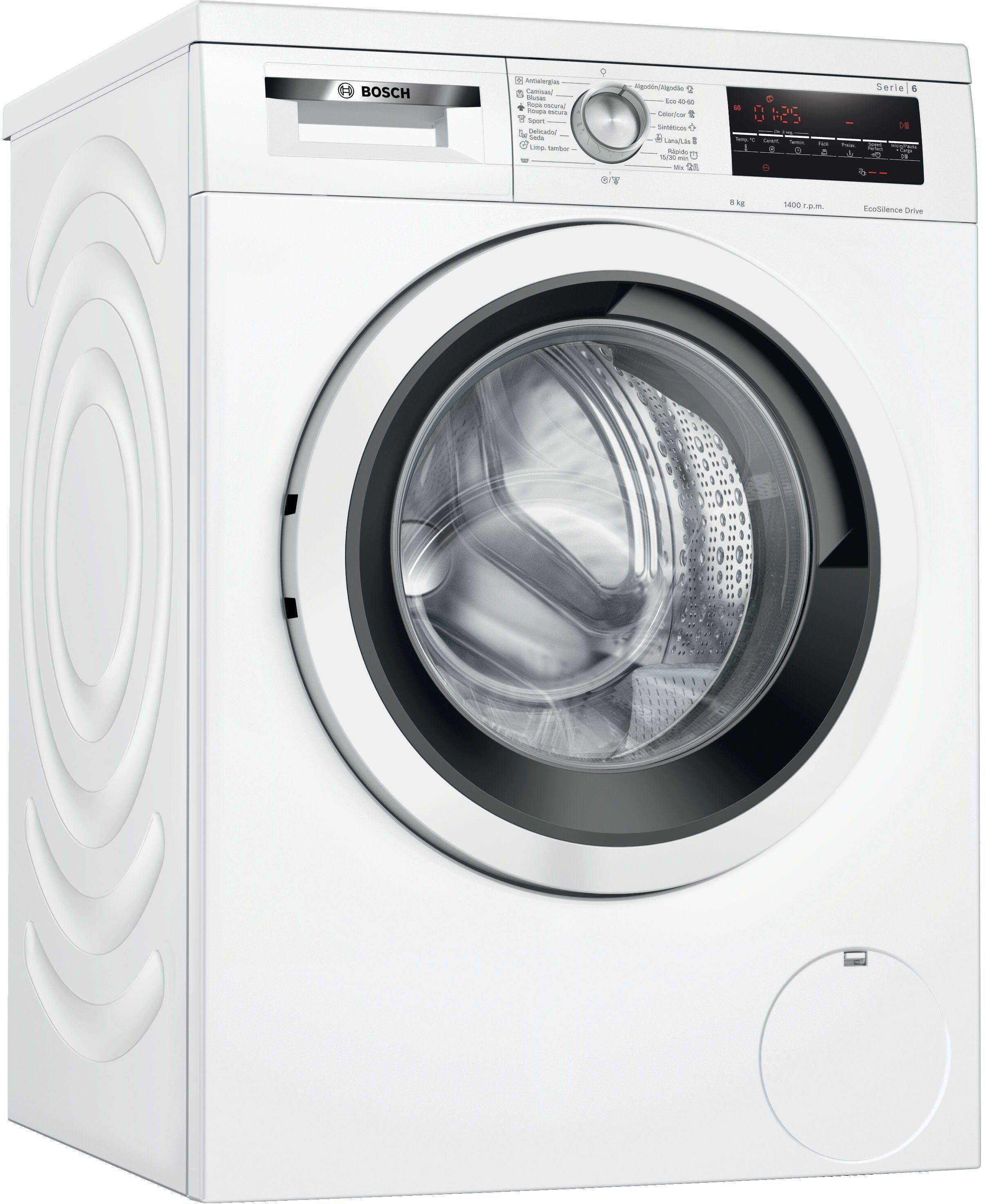 Lavadora Bosch WUU28T60ES 8kg 1400 A+++