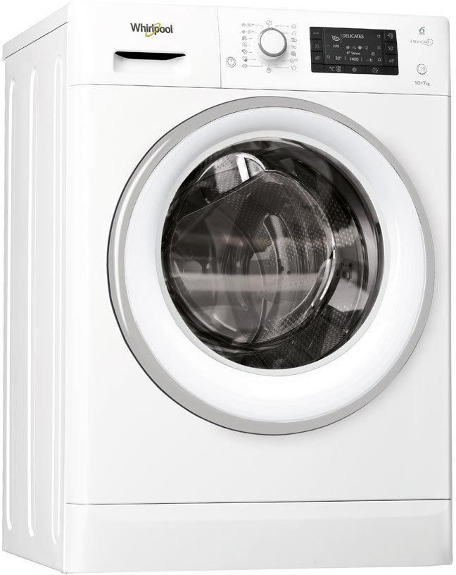 Lavasecadora Whirlpool FWDD1071681WS 10kg 1600 A