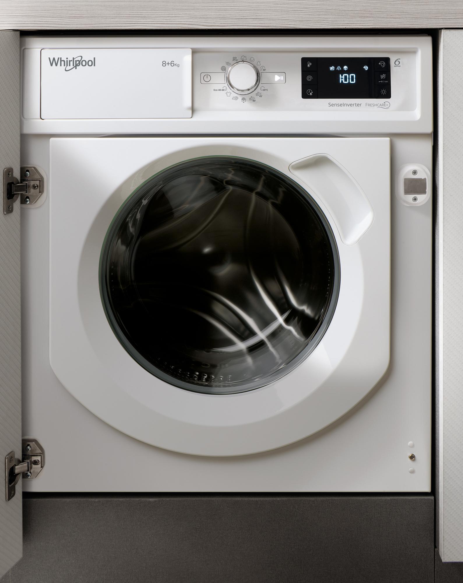 Lavasecadora Whirlpool WDWG861484EU Integ 8+6kg