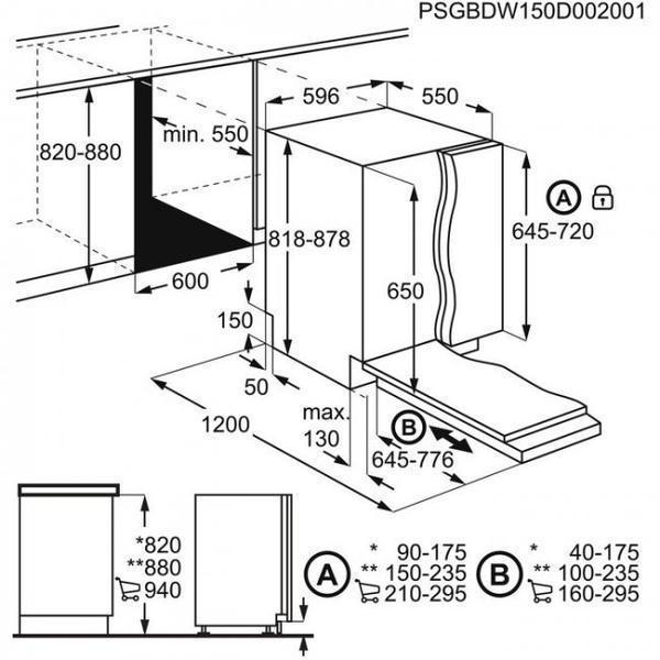 Lavavajillas Electrolux ESL5325LO Integrable A++ A++
