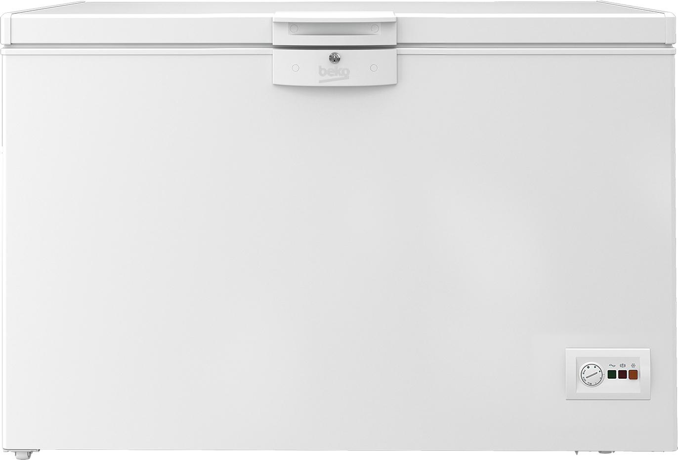 Congelador Beko HSA40530N Horizontal 360l 128,5 A+