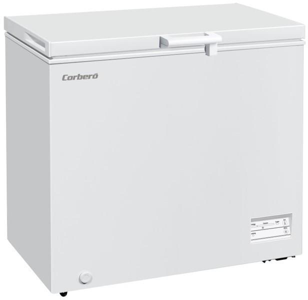 Congelador Corbero ECCHH9200W Horizontal 200l A+