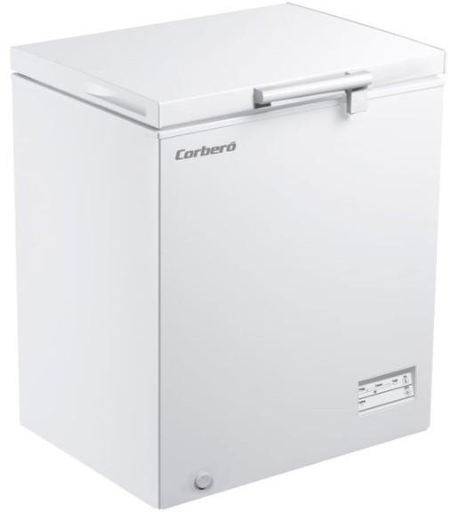 Congelador Corbero ECCHH9150W Horizontal 145l F
