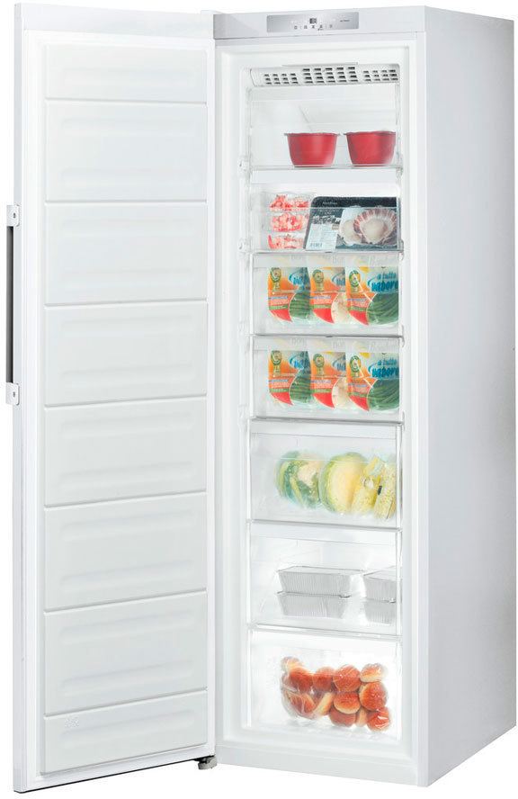 Congelador Indesit UI8F1CW Vertical 260l 188c A+
