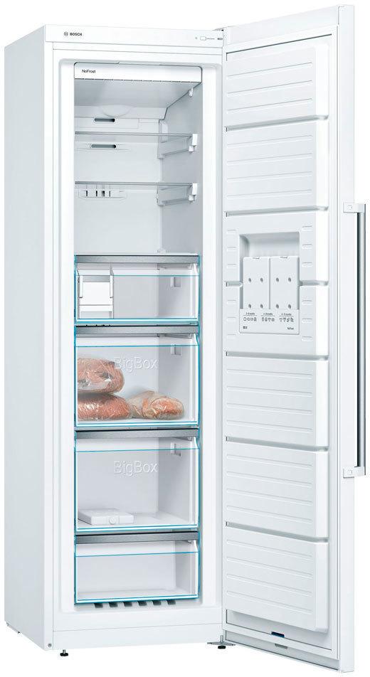 Congelador Bosch GSN36BW3P Vertical 186 A++v-