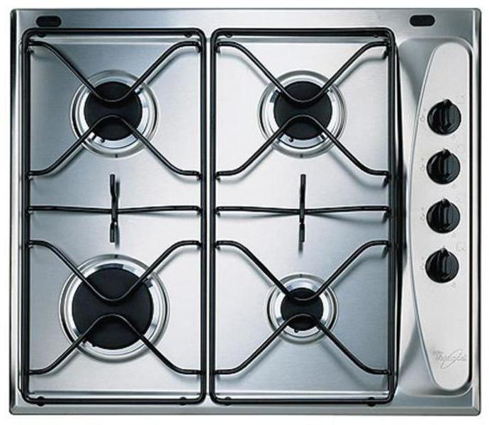 Placa Whirlpool AKM260IX 4gas Natural Inox