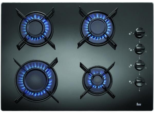Beko placa hizg64101sx 4 gas butano indep inox placa gas placas cocina gran - Encimeras de cocina de gas butano ...