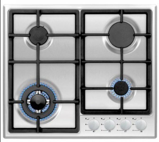 Placa Vitrokitchen EN63IB 4gas-butano Inox