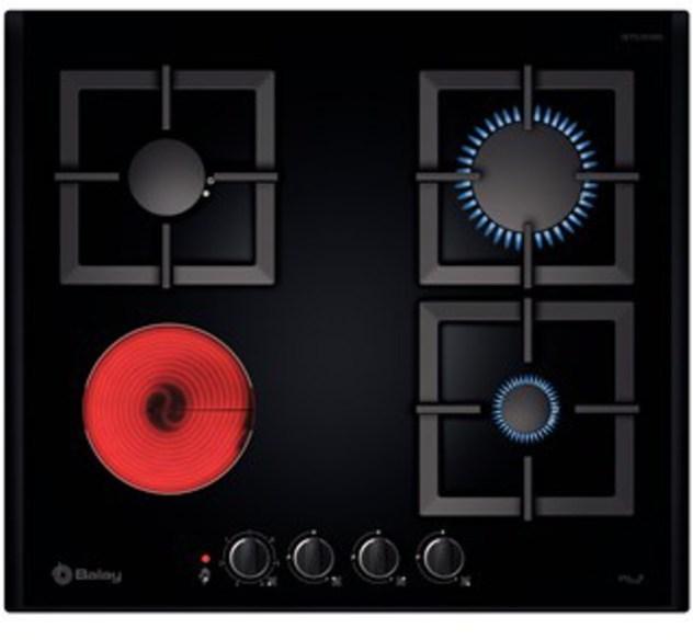 Placa mixta placas cocina gran electrodom stico for Placas de cocina mixtas
