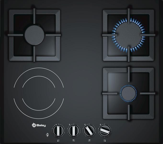 Cocinas Mixtas   Placa Mixta Placas Cocina Gran Electrodomestico Marcas A Z