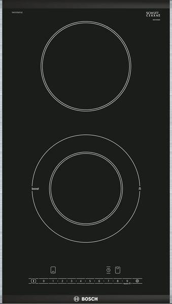 Placa Bosch PKF375FP1E 2vitros 1doble Domino 30cm