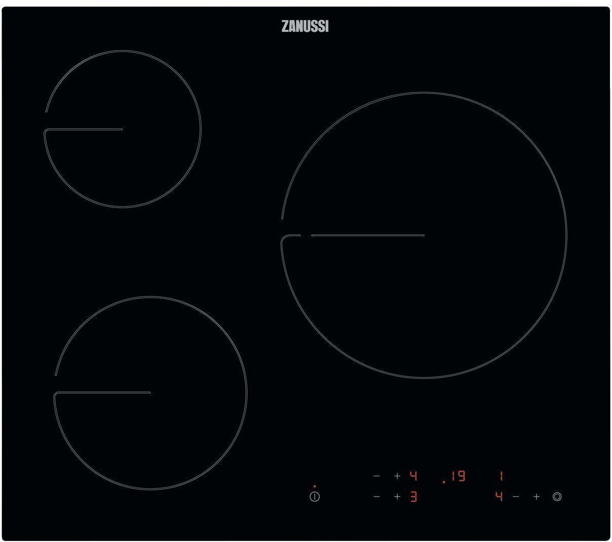 Placa Zanussi ZHRN638K 3vitro Touch