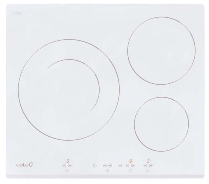 Placas de inducci n etendencias electrodom sticos - Placa induccion blanca ...