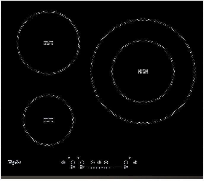 Placa Whirlpool ACM334BF 3induccion 1 Doble