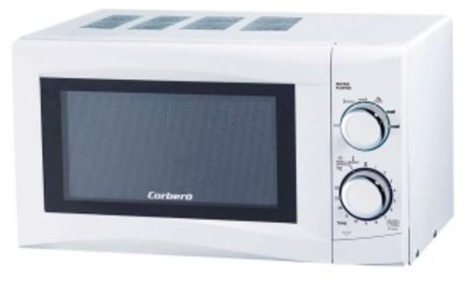 Microondas Corbero CMICG220W 20l 700w Sin Grill