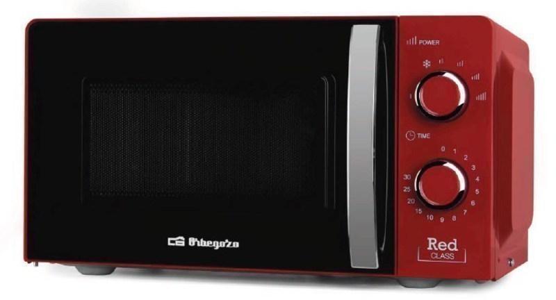 Microondas Orbegozo MI2121 20l Rojo Sin Grill