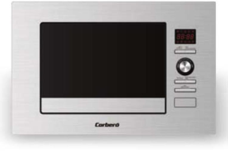 Microondas Corbero CMICP100 20l 800w Encast Inox