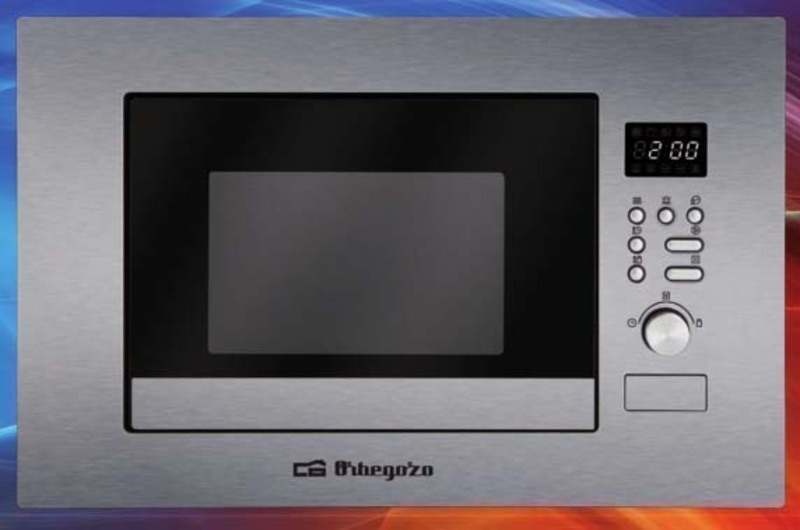 Microondas Orbegozo MIG2037 20l Grill Inox Encastr