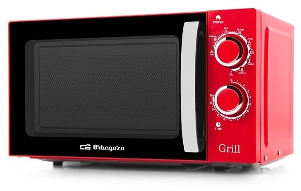 Microondas Orbegozo MIG2045 20l 700w Grill Rojo