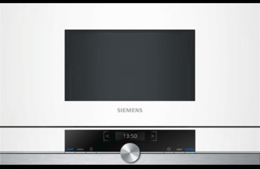 Microondas Siemens BF634LGW1 21l Blanco Integrable