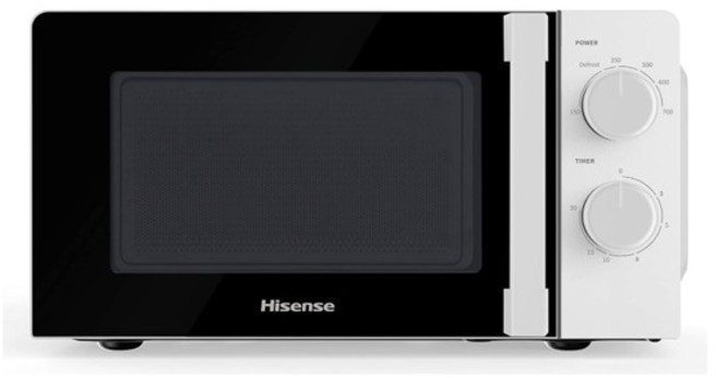 Microondas Hisense H20MOWS1H 20l 700w Blanco