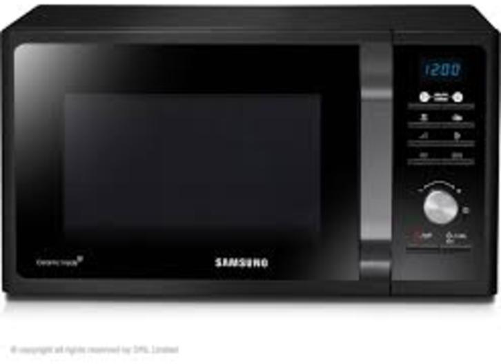 Microondas Samsung MG23F301TAK 23l Grill Negro