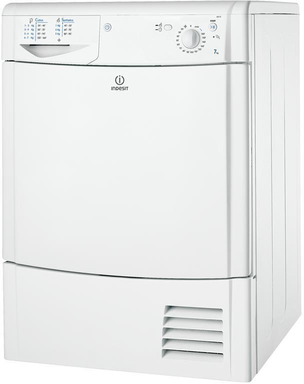 Secadora Indesit IDC75B Condensacion 7kg Blanca B