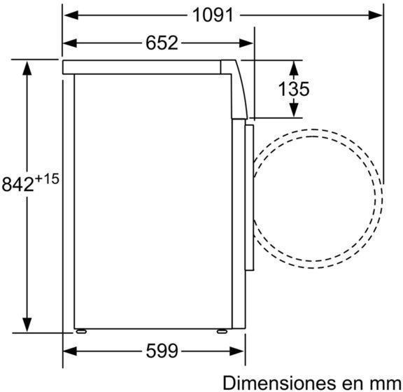 Secadora Siemens WT47G439ES Condensacion 8kg A++
