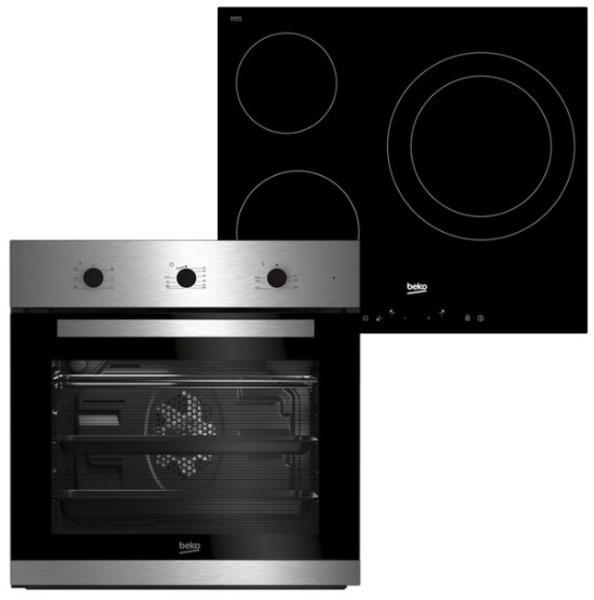 Conjunto de horno y placa