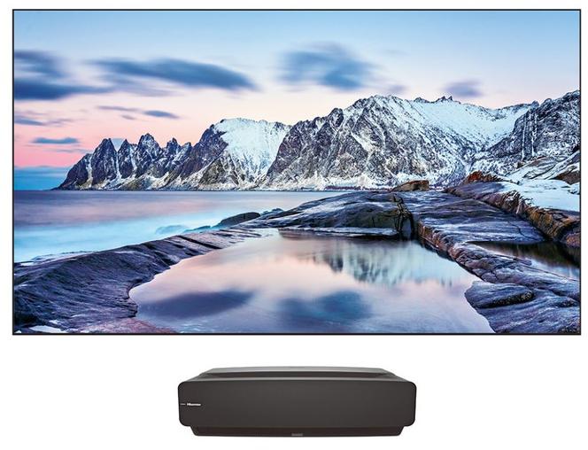 Laser Hisense TV H100 4k Smart