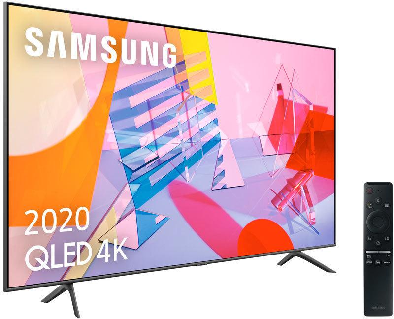 Televisor Samsung 65QE65Q60TAUXXC Qled 4k Wifi